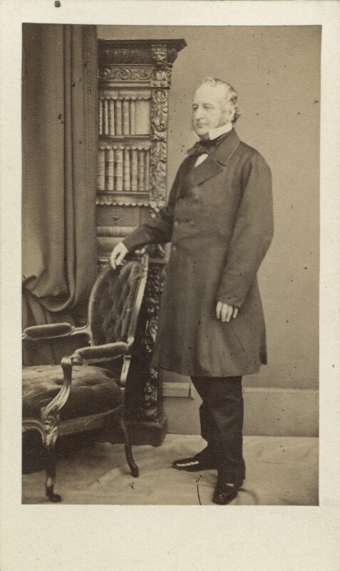 Spencer Horatio Walpole, by William Edward Kilburn, early-mid 1860s - NPG Ax30399 - © National Portrait Gallery, London