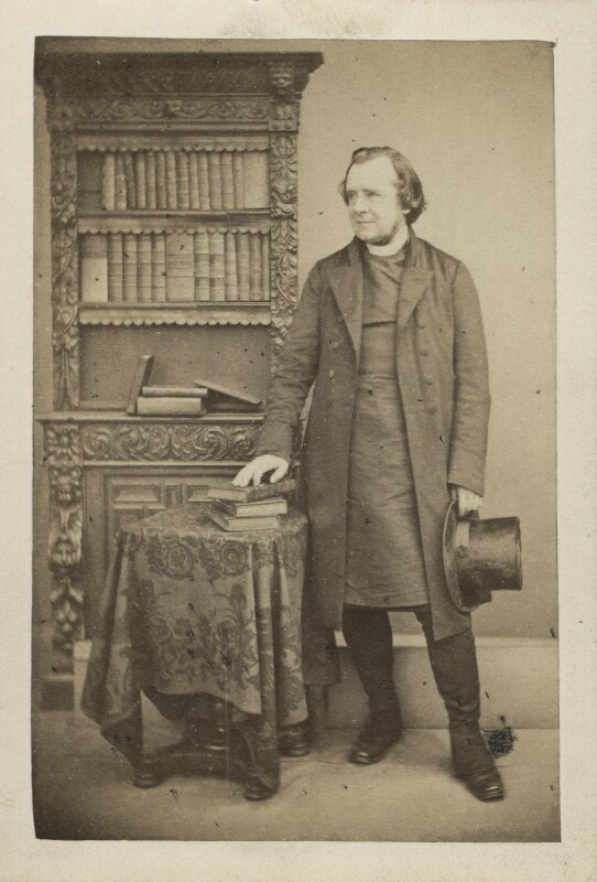 Samuel Wilberforce, by William Edward Kilburn, late 1850s-early 1860s - NPG Ax30403 - © National Portrait Gallery, London