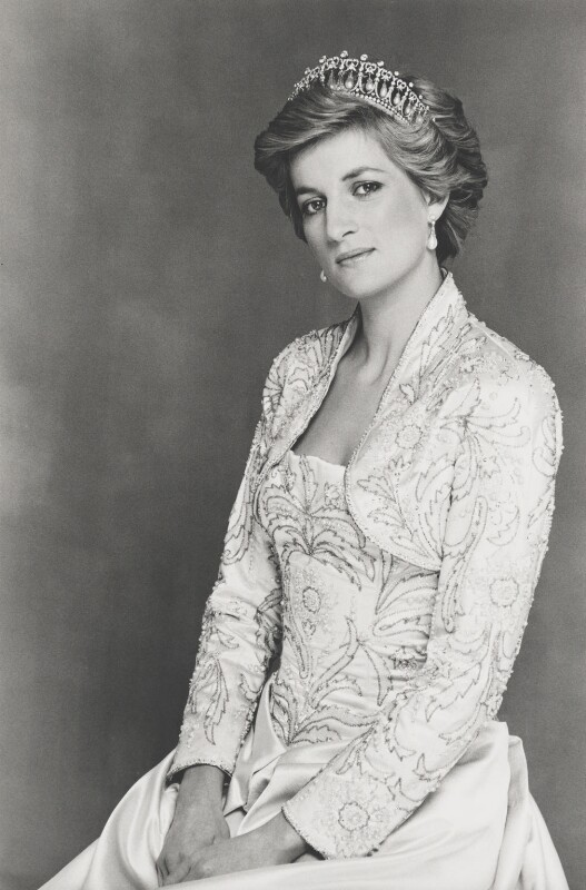 Diana, Princess of Wales, by Terence Daniel Donovan, 1990 - NPG P716(11) - Photo Terence Donovan, © The Terence Donovan Archive