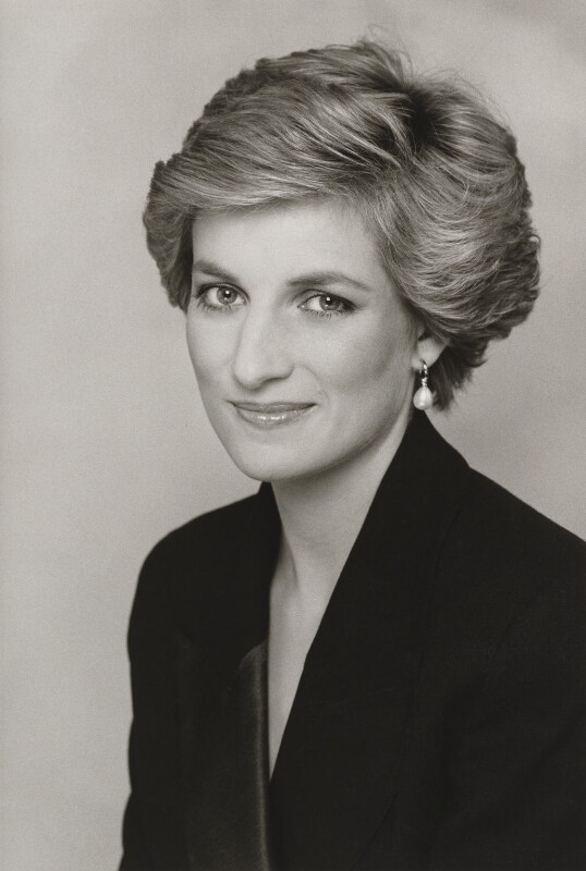 Diana, Princess of Wales, by Terence Daniel Donovan, 1990 - NPG P716(14) - Photo Terence Donovan, © The Terence Donovan Archive