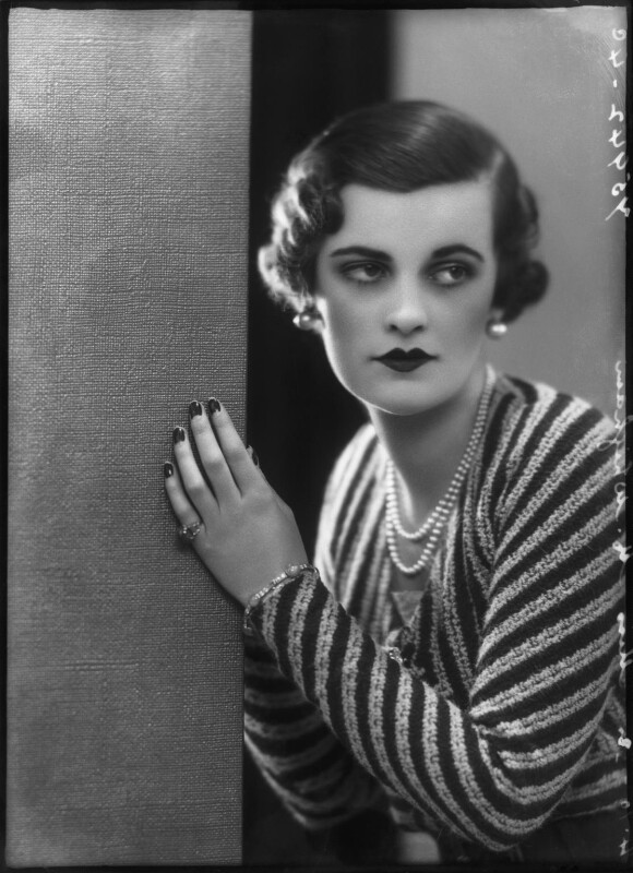 (Ethel) Margaret Campbell (née Whigham), Duchess of Argyll, by Bassano Ltd, 4 October 1932 - NPG x127554 - © National Portrait Gallery, London