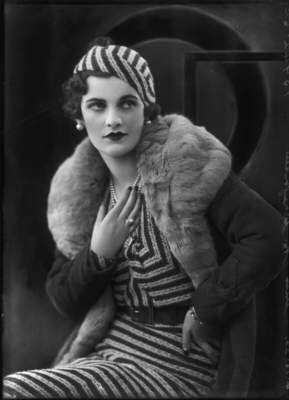 (Ethel) Margaret Campbell (née Whigham), Duchess of Argyll, by Bassano Ltd, 4 October 1932 - NPG x127555 - © National Portrait Gallery, London