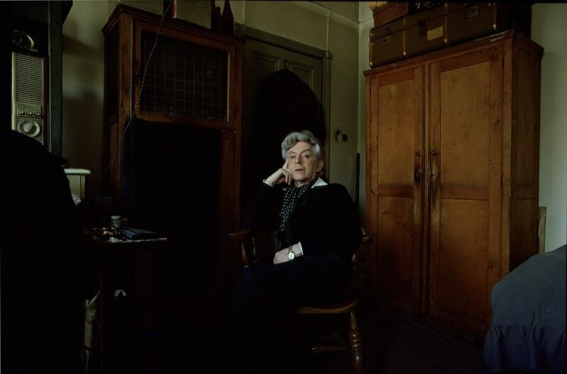 Quentin Crisp, by Edward Barber, 1975 - NPG x127706 - © Edward Barber 1975
