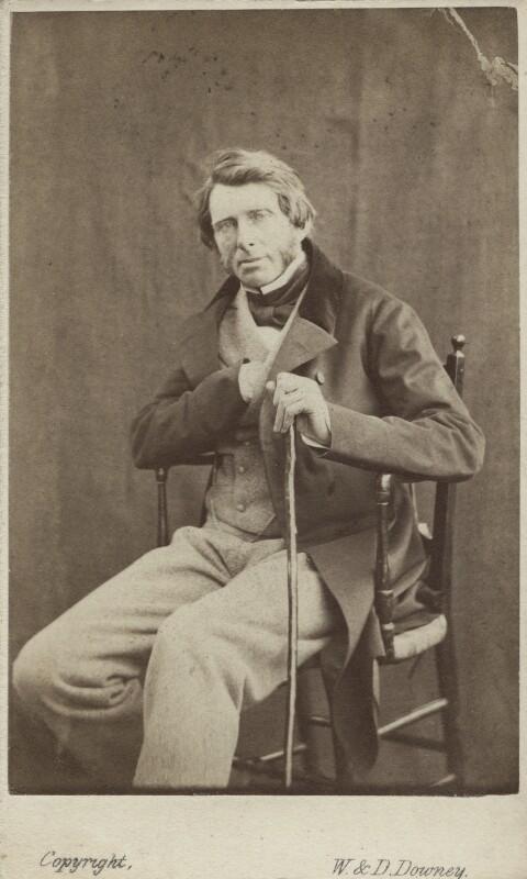 John Ruskin, by W. & D. Downey, 29 June 1863 - NPG Ax14797 - © National Portrait Gallery, London