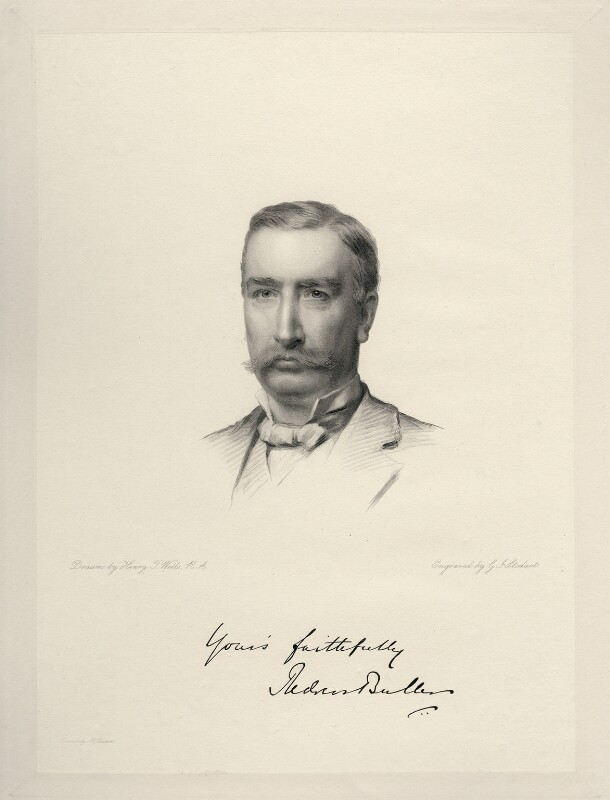 Sir Redvers Henry Buller, by George J. Stodart, after  Henry Tanworth Wells, 1886 or after - NPG D20732 - © National Portrait Gallery, London