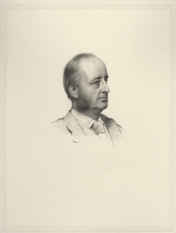 Richard Everard Webster, Viscount Alverstone, by George J. Stodart, after  Henry Tanworth Wells, 1888 or after - NPG D20733 - © National Portrait Gallery, London