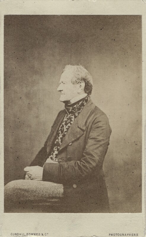 William Mulready, by Cundall, Downes & Co, after  Robert Howlett, 1860-1865 (circa 1858) - NPG Ax14805 - © National Portrait Gallery, London