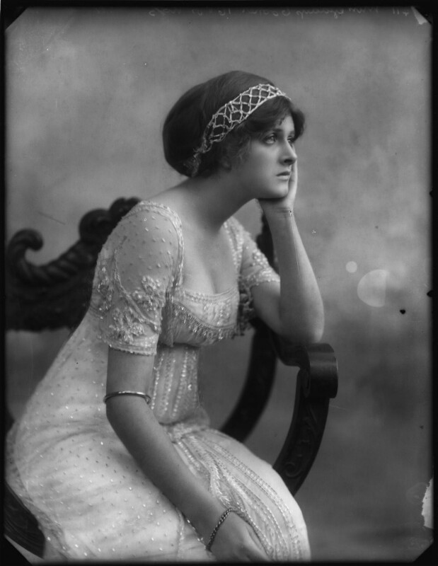 Dame Gladys Cooper, by Bassano Ltd, 1910 - NPG x127667 - © National Portrait Gallery, London