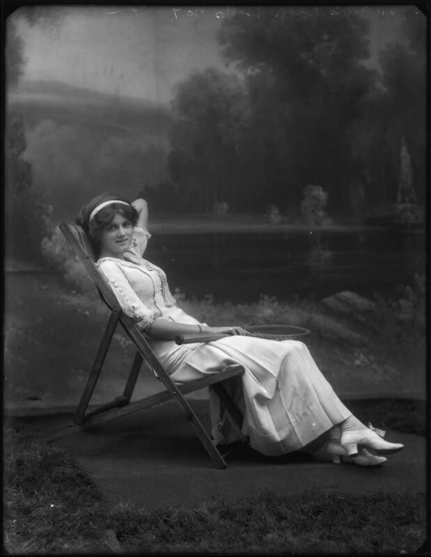 Dame Gladys Cooper, by Bassano Ltd, 1910 - NPG x127669 - © National Portrait Gallery, London