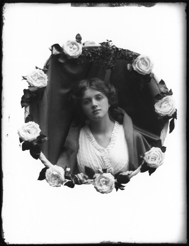 Dame Gladys Cooper, by Bassano Ltd, 1910 - NPG x127676 - © National Portrait Gallery, London