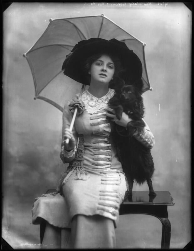 Dame Gladys Cooper, by Bassano Ltd, 1910 - NPG x127680 - © National Portrait Gallery, London