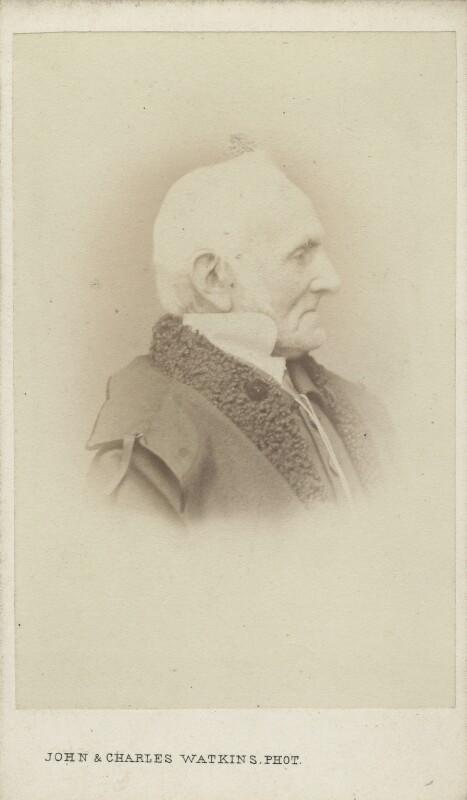 George Jones, by John & Charles Watkins, 1860s - NPG Ax14817 - © National Portrait Gallery, London