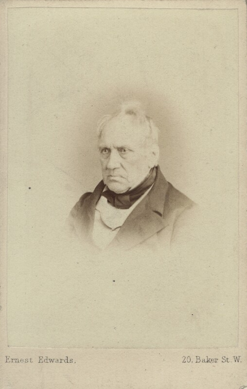 Edward Hodges Baily, by Ernest Edwards, circa 1863 - NPG Ax14818 - © National Portrait Gallery, London