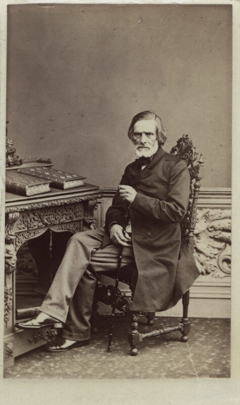 John Gibson, by Unknown photographer, early-mid 1860s - NPG Ax14820 - © National Portrait Gallery, London
