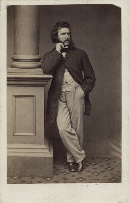 Thomas Faed, by Maull & Polyblank, late 1850s? - NPG Ax14827 - © National Portrait Gallery, London