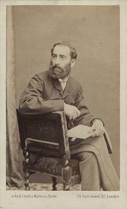Philip Hermogenes Calderon, by John & Charles Watkins, 1864 - NPG Ax14834 - © National Portrait Gallery, London
