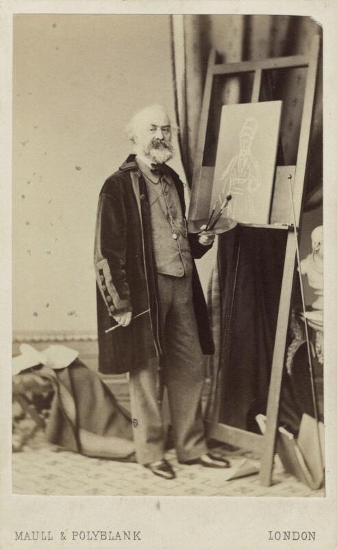 John Prescott Knight, by Maull & Polyblank, mid 1860s - NPG Ax14835 - © National Portrait Gallery, London