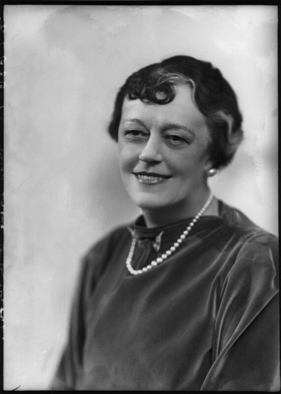 Irene Vanbrugh, by Bassano Ltd, 9 April 1937 - NPG x124418 - © National Portrait Gallery, London