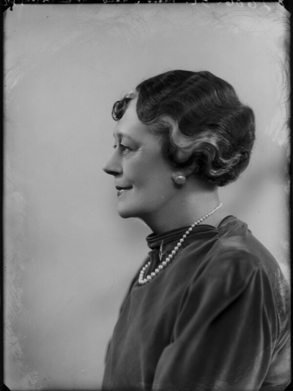 Irene Vanbrugh, by Bassano Ltd, 9 April 1937 - NPG x124420 - © National Portrait Gallery, London