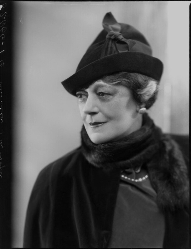 Irene Vanbrugh, by Bassano Ltd, 9 April 1937 - NPG x124421 - © National Portrait Gallery, London