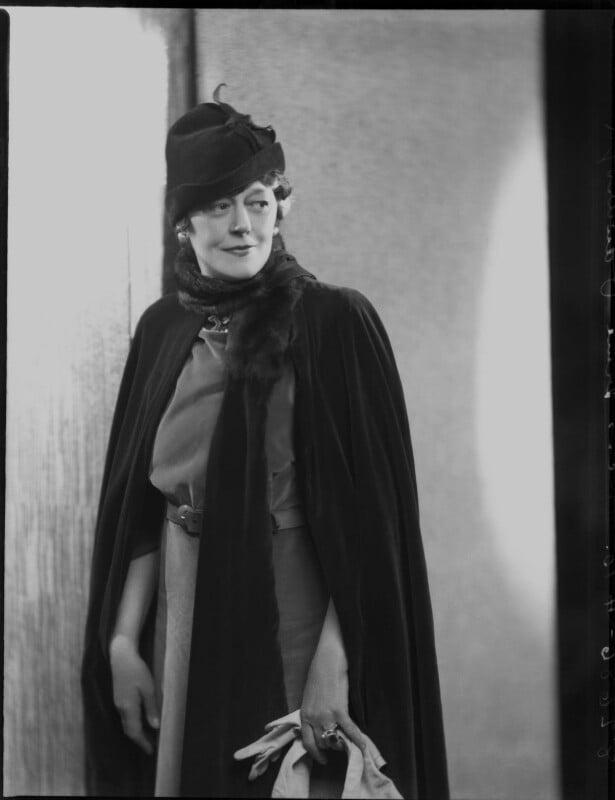 Irene Vanbrugh, by Bassano Ltd, 9 April 1937 - NPG x124422 - © National Portrait Gallery, London