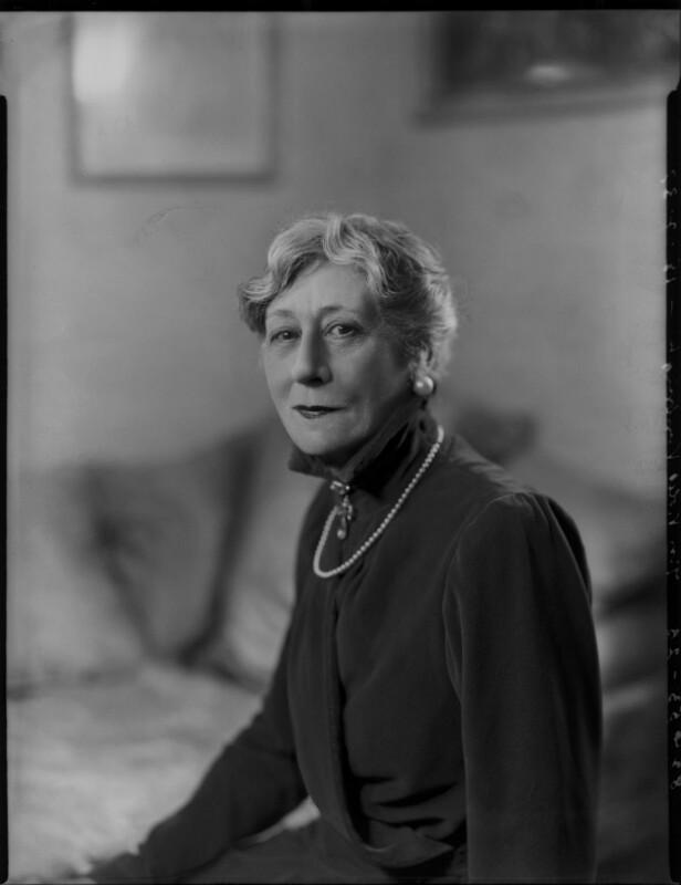 Violet Vanbrugh (Violet Augusta Mary Barnes), by Bassano Ltd, 18 February 1937 - NPG x124424 - © National Portrait Gallery, London
