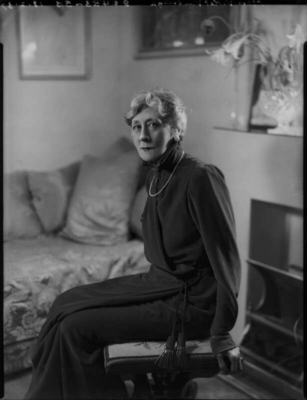 Violet Vanbrugh (Violet Augusta Mary Barnes), by Bassano Ltd, 18 February 1937 - NPG x124427 - © National Portrait Gallery, London