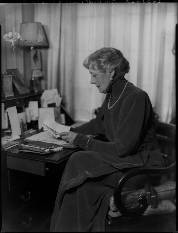 Violet Vanbrugh (Violet Augusta Mary Barnes), by Bassano Ltd, 18 February 1937 - NPG x124428 - © National Portrait Gallery, London