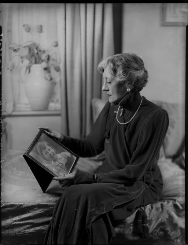 Violet Vanbrugh (Violet Augusta Mary Barnes), by Bassano Ltd, 18 February 1937 - NPG x124429 - © National Portrait Gallery, London