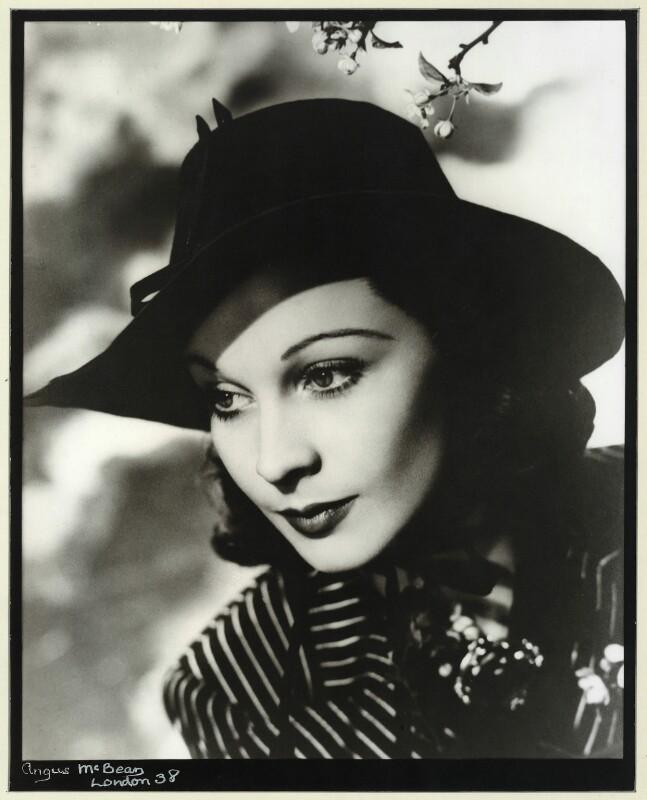 Vivien Leigh, by Angus McBean, 1938 - NPG x30432 - Angus McBean Photograph. © Harvard Theatre Collection, Harvard University.