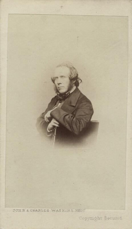 William Powell Frith, by John & Charles Watkins, (1856-1857) - NPG Ax14841 - © National Portrait Gallery, London
