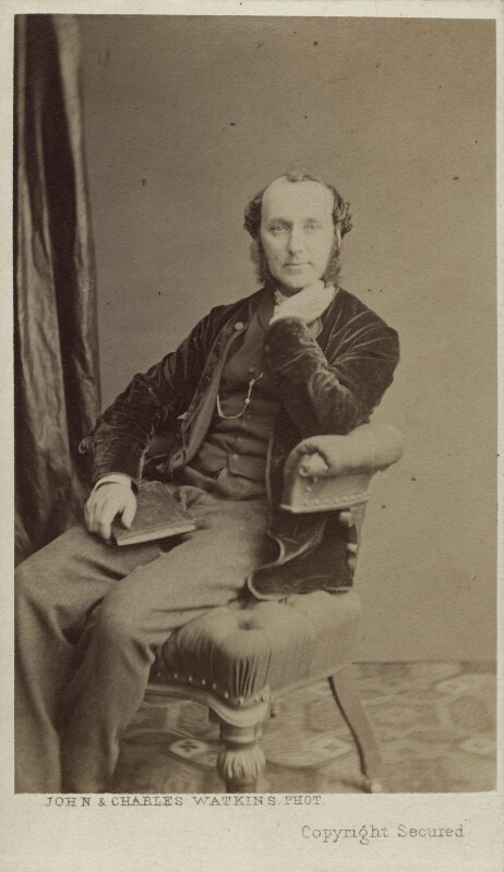 James Sant, by John & Charles Watkins, mid-late 1860s - NPG Ax14844 - © National Portrait Gallery, London