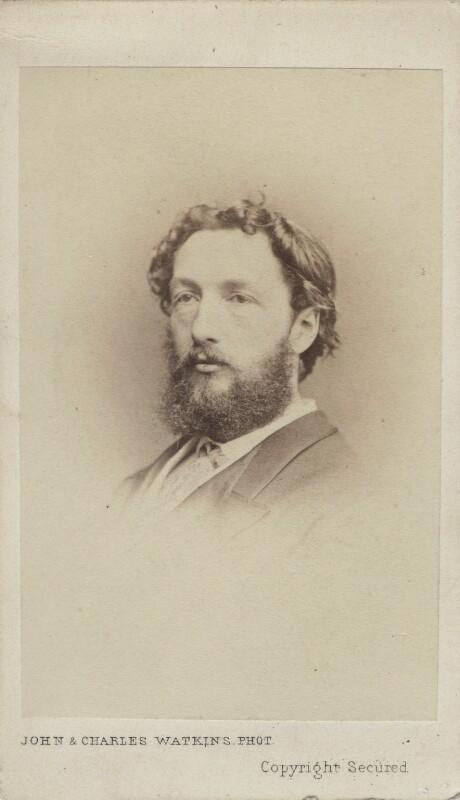 Frederic Leighton, Baron Leighton, by John & Charles Watkins, 1860s - NPG Ax14850 - © National Portrait Gallery, London