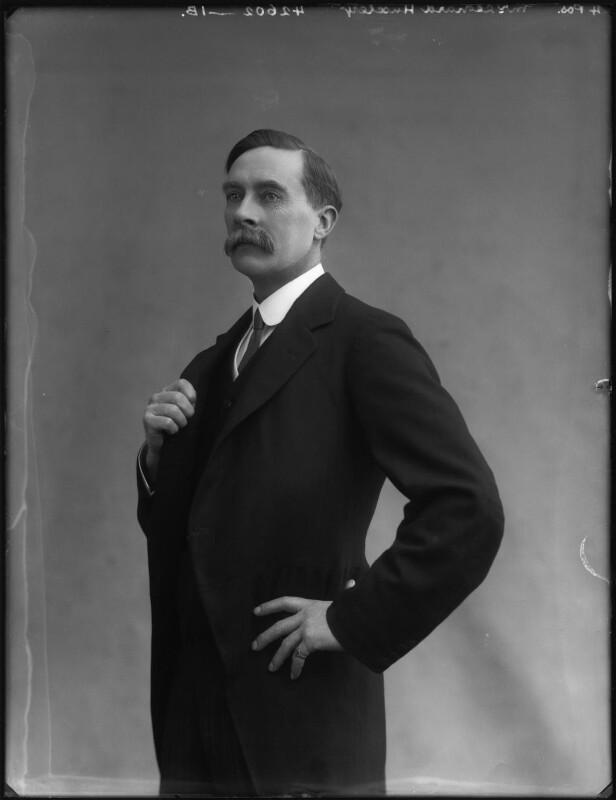 Leonard Huxley, by Bassano Ltd, 1913 - NPG x127808 - © National Portrait Gallery, London