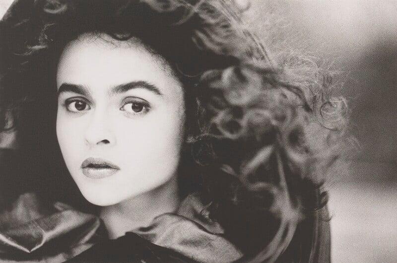 Helena Bonham Carter, by John Swannell, 1987 - NPG P717(2) - © John Swannell / Camera Press