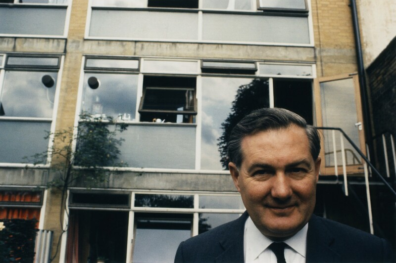 James Callaghan, by Peter Keen, mid 1960s - NPG x127713 - © estate of Peter Keen / National Portrait Gallery, London