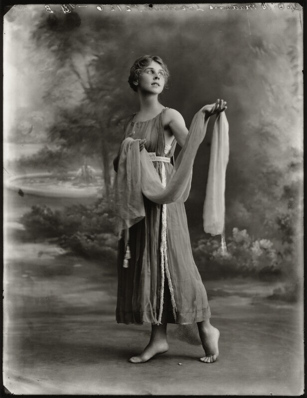 Lydia Lopokova, by Bassano Ltd, 21 August 1918 - NPG x127817 - © National Portrait Gallery, London