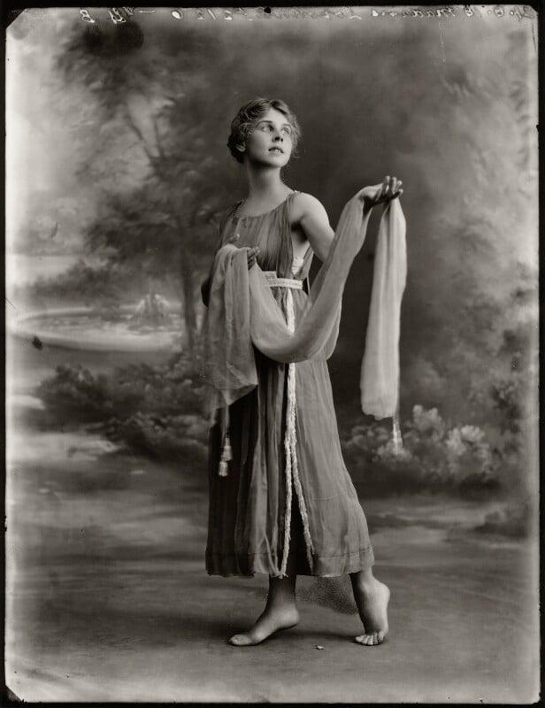 Lydia Lopokova, by Bassano Ltd, 21 August 1918 - NPG x127817 - © National Portrait Gallery, London