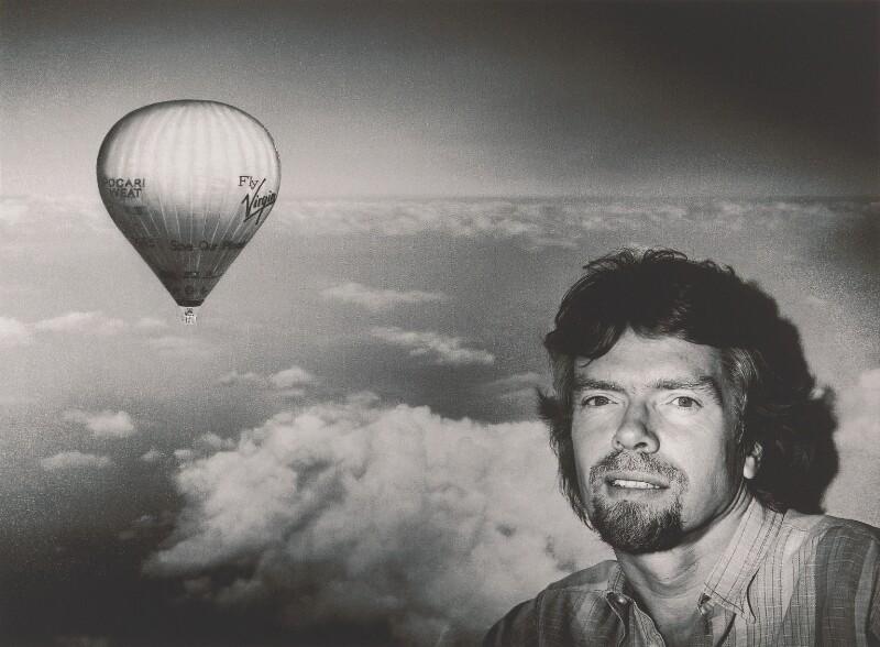 Sir Richard Branson, by John Swannell, 1992 - NPG P717(4) - © John Swannell / Camera Press