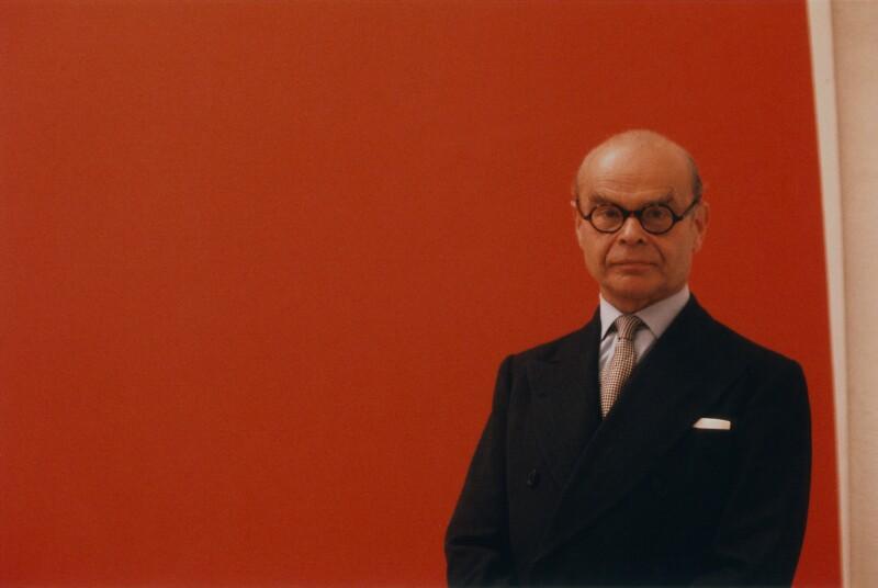 John Rothenstein, by Peter Keen, 1964 - NPG x127722 - © estate of Peter Keen / National Portrait Gallery, London