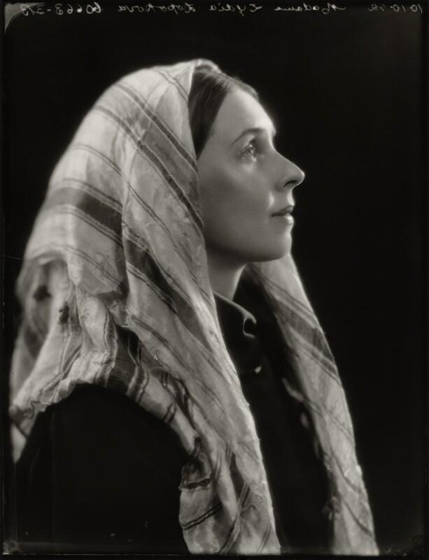 Lydia Lopokova, by Bassano Ltd, 10 October 1922 - NPG x127824 - © National Portrait Gallery, London