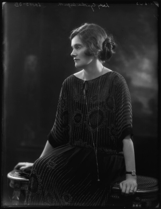 Lady Cynthia Mary Evelyn Asquith (née Charteris), by Bassano Ltd, 11 June 1923 - NPG x127834 - © National Portrait Gallery, London