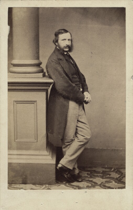 William Charles Thomas Dobson, by Maull & Polyblank, circa 1864 - NPG Ax14859 - © National Portrait Gallery, London