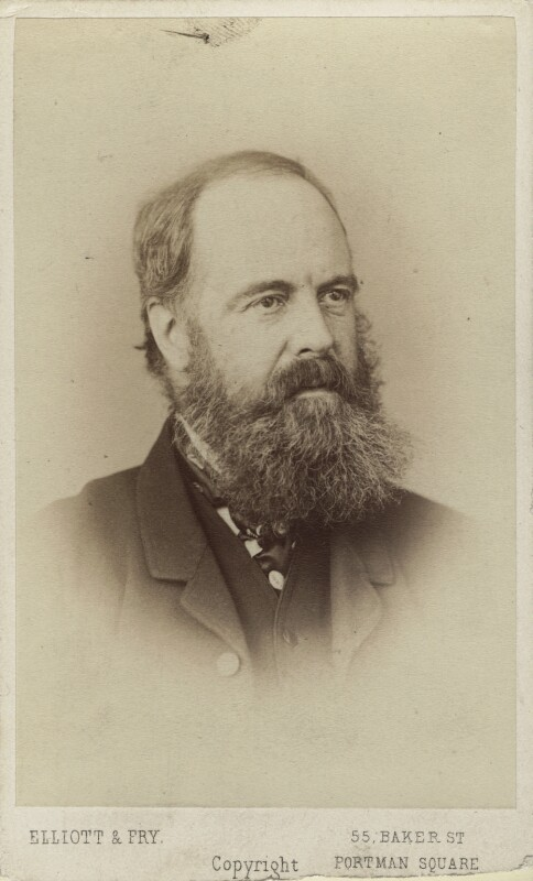 Edward Armitage, by Elliott & Fry, circa 1867 - NPG Ax14861 - © National Portrait Gallery, London