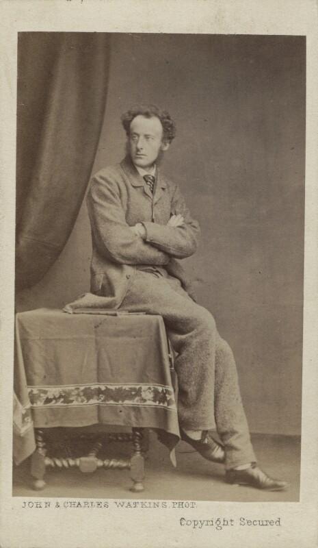 Sir John Everett Millais, 1st Bt, by John & Charles Watkins, early 1860s - NPG Ax14867 - © National Portrait Gallery, London
