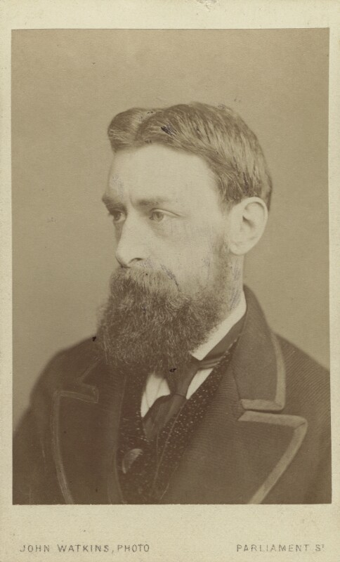 Sir Edward John Poynter, 1st Bt, by John Watkins, 1860s - NPG Ax14870 - © National Portrait Gallery, London