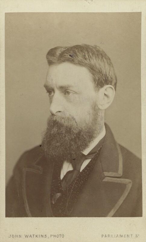 Sir Edward John Poynter, 1st Bt, by John Watkins, 1860s - NPG Ax14870 - © National Portrait Gallery, London