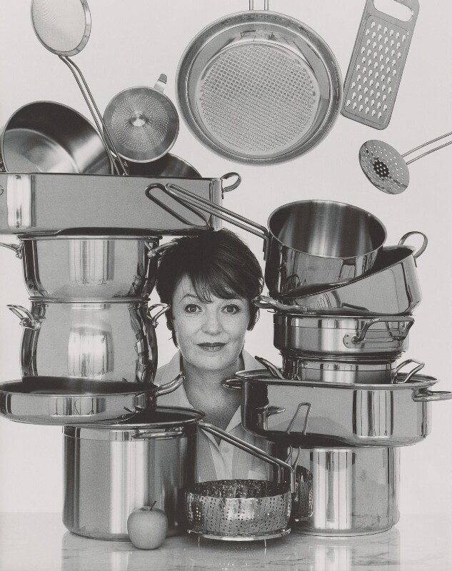 Delia Smith, by John Swannell, 1995 - NPG P717(13) - © John Swannell / Camera Press