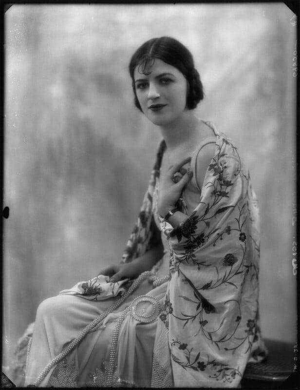 Dame Gracie Fields, by Bassano Ltd, 24 February 1928 - NPG x127896 - © National Portrait Gallery, London