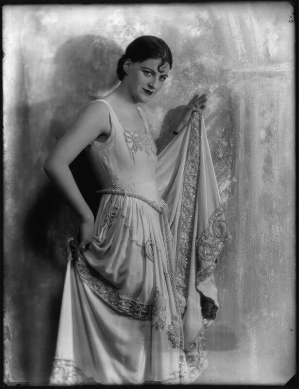 Dame Gracie Fields, by Bassano Ltd, 24 February 1928 - NPG x127897 - © National Portrait Gallery, London